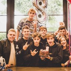 The family is stronger then ever @team10official ... love you guys