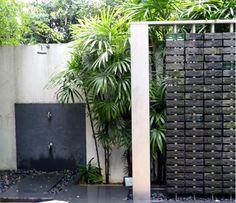 Outside Shower | Outdoor Shower Outside Showers, Outdoor Showers, Bali  Garden, Garden Shower