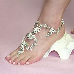 3d+anklet+And+Toe+Ring+Designs+Designs+tattoo | diamond anklets trends 2012 Accessories Anklets for Teen Trends 2012