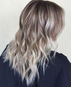 My hair dresser is a hair genius! Icy Blonde, Blonde Balayage, Blonde Hair, Hair Inspo, My Hair, Salons, Stylists, Long Hair Styles, Instagram Posts