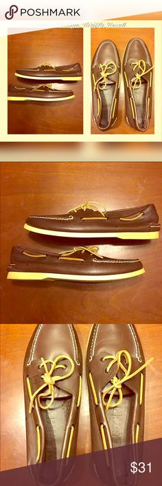 Sperrys Boat Loafer Men's Shoes Sperrys Boat Loafers Men's Shoes/ Brown/ Size 13 (Make Reasonable Offer) Sperry Top-Sider Shoes Flats & Loafers