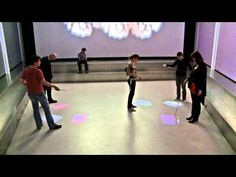TRACES - Interactive Floor Installation - YouTube