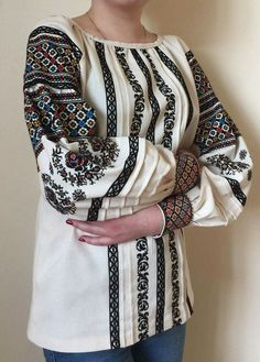 Embroidery Stitches, Kimono Top, Costumes, Crochet, Outfits, Tops, Traditional, Women, Style