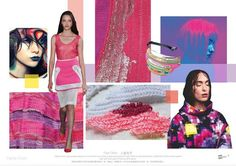 TRENDS // SPIN EXPO - COLOR AND MATERIALS/CANDY CRUSH . S/S 2017 | FASHION…
