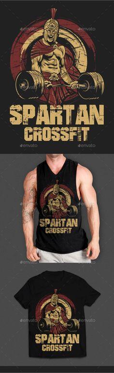 #Fitness #T-Shirt Design4 - T-Shirts Download here:  https://graphicriver.net/item/fitness-tshirt-design4/19753046?ref=alena994