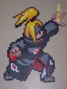 sound ninja naruto perler beads - Google Search