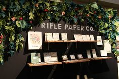 National Stationery Show 2012: Rifle Paper Co.   Photo Credit: Oh So Beautiful Paper