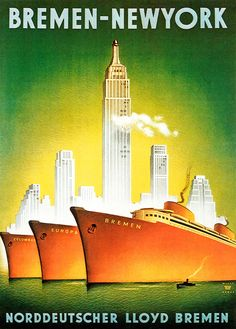 Vintage Cruise Line Posters from Cruising's Glory Days - Condé Nast Traveler