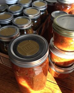 Canning Smokey Zucchini Salsa & Personalized Labels | Reluctant Entertainer
