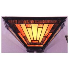 Dale Tiffany 6066/1LTB Sunset Mission Wall Sconce