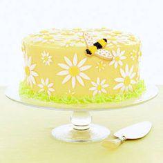 Tantissime torte decorate per Pasqua su http://www.pianetadonna.it/foto_gallery/cucina/foto-decorazioni-torte-e-cupcakes-pasqua/arrivano-le-api.html