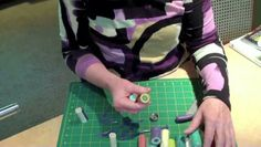 Extruding polymer clay can be tough on your hands and wrists. Cynthia Tinapple shows you how to avoid all that twisting and cranking to build stunning canes with much less effort.