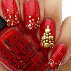 We added 20+ More Christmas Nails! That's a Total of 51 Christmas Nail Designs!! Check them all out here http://www.nailmypolish.com/christmas-nail-art/ !!  http://CelebNewsPlus.com