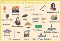 """Résultat de recherche d'images pour """"the great fire of london information ks1"""""""