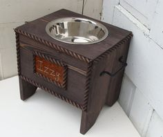 is dane teaserbox in custom feeders this elevated usa loving great feeder new dog his made