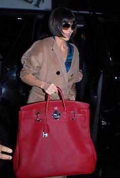 Katie Holmes, gigantic Birkin, I love large bags, but damn! Jane Birkin, Hermes Birkin, Hermes Bags, Birkin Bags, Fake Designer Bags, Designer Handbags, Latest Bags, Unique Bags, Katie Holmes