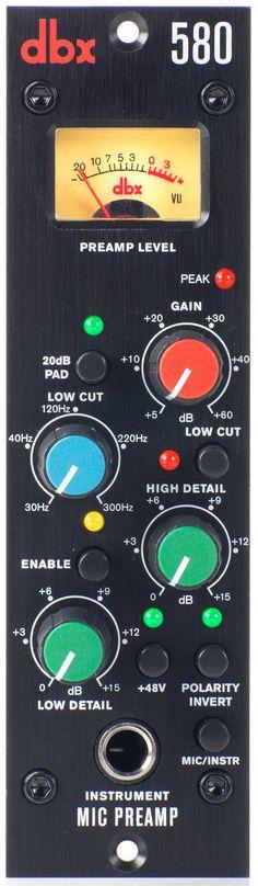 Dbx580 Mic Preamp