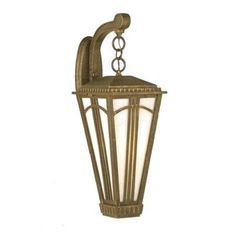 "Parisian PE4400 Series 36.75"" Wall Lantern Finish: Architectural Bronze by Melissa Lighting. $626.99. PE449111-AB Finish: Architectural Bronze Features: -Wall lantern.-Opal glass panel.-Electronic ballast EBPL:13-26-32-42(four pin).-UL listed. Options: -Available in Black, White, Old Iron, Architectural Bronze, Rusty Nail, Old Bronze, Old World, Aged Silver, Patina Bronze and Old Copper finishes. Construction: -Cast aluminum construction. Specifications: -Accommodates (2..."