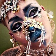 Miss Shangri-lah Carnival, Halloween Face Makeup, Asian, Queen, Carnavals