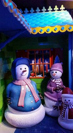 Sone of the 3D Characters at Santa's Magical Grotto Coalisland Co Tyrone BT71 4HP Northern Ireland