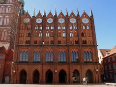 The old town hall on the Old Market Square dates back to century. It is the landmark of the city and one of the most important secular buildings of North German Brick Gothic architecture. Saxony Anhalt, Rhineland Palatinate, Town Hall, Lower Saxony, North Rhine Westphalia, Gothic Architecture, Gothic Art, Germany Travel, Old Town