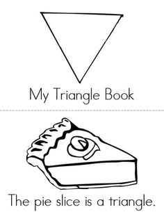 My Triangle Book from TwistyNoodle.com