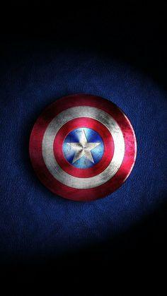 Captain America Shield Android Wallpaper Rishi