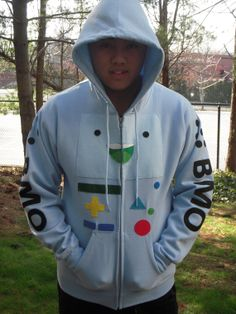 BMO  -  Beemo Video Game System Inspired Hoodie for Adults -   Adventure Time Cartoon on Etsy, $62.00