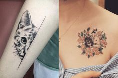 14 Downright Awesome Tattoo Ideas For Cat Lovers | Cuteness.com