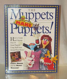 how to make animal muppet puppet