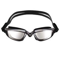 Bazaar Sports Antifog Swim Goggles Adult Swimming Glasses Waterproof Eyewear Large Frame Lens *** You can get additional details at the image link.Note:It is affiliate link to Amazon.