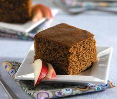 Applesauce Cake Recipe. Diabetes Friendly recipe from Diabetic Gourmet Magazine. DiabeticGourmet.com