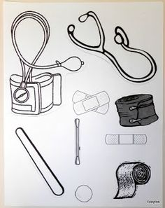 5 Best Images of Doctor Kit Printables For Preschool - Preschool Doctor Worksheets Printable, Doctor Bag Craft Template and Preschool Doctor Theme Community Workers, School Community, Human Body Crafts, Community Helpers Crafts, People Who Help Us, Sunday School Crafts, Bible Crafts, Hygiene, Preschool Crafts