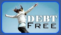 Here are some tips from the  Simple Debt Free Living Website  to help you reach your goal  of becoming debt free.