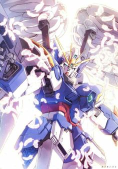 Gundam Wing Zero custom Zero Wallpaper, Wings Wallpaper, Gundam Wing, Gundam Art, Fantasy Armor, Anime Fantasy, Gundam Astray, Gundam Wallpapers, Frame Arms Girl