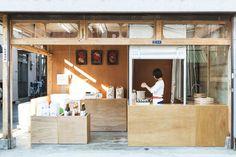 OKOMEYA rice shop by Schemata Architects