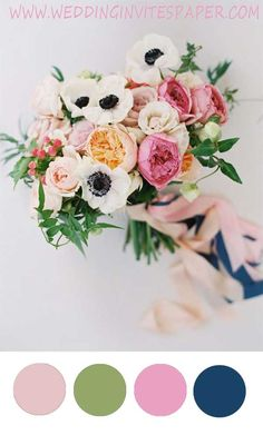 50+ Prettiest Rose Wedding Bouquets Inspirations Incorporated into Invitations for Every Season - Wedding Invites Paper  navy blue and blush pink wedding bouquet/ rustic chic spring wedding flowers