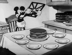 What Happened To The 8th Slice Of Cake?  Mickey Math.  Art and entertainment first, math second.