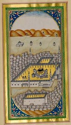 Kaaba-Kabe Mekka, Madina, Mosques, Sufi, Learning Resources, Islamic Art, Persian, Paper Art, Miniatures