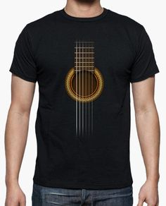 Guitar Sheet T-shirt - menstyes Shirt Print Design, Tee Design, Shirt Designs, Suit Guide, Printed Shirts, Tee Shirts, T-shirt Logo, African Clothing For Men, Geile T-shirts