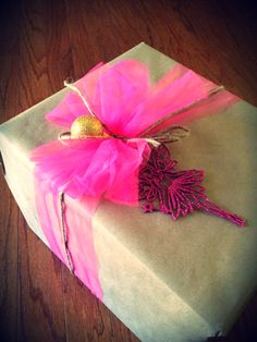Love this wrapping idea