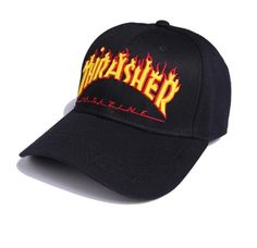 Thrasher Dad Hat Premium Adjustable Strapback