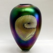 Black Fumed Nautilus – Fusion Art Glass Online Store
