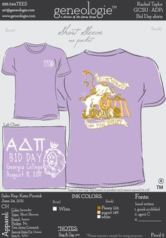 """Welcome to the MANE event!"" carnival inspired Bid Day t-shirt."