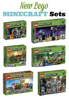 Pre-Order New Minecraft Lego Sets and get them before they sell out and prices skyrocket!