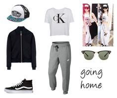"""""""8.4."""" by ronniebenett ❤ liked on Polyvore featuring Payne, Vans, NIKE, Calvin Klein, McQ by Alexander McQueen and Ray-Ban"""