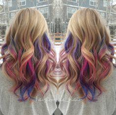 Underlights Hair Color Trend   POPSUGAR Beauty