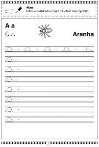 Atividades Alfabeto Cursivo 1