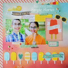 Summer Vibes **Simple Stories** - Scrapbook.com