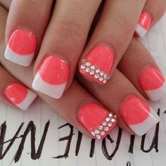 These nails are so cute!:) I love them, but I think that I would love them even more if they were in pink!:)